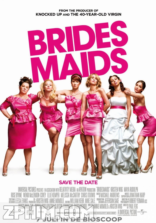 Phù Dâu - Bridesmaids (2011) Poster