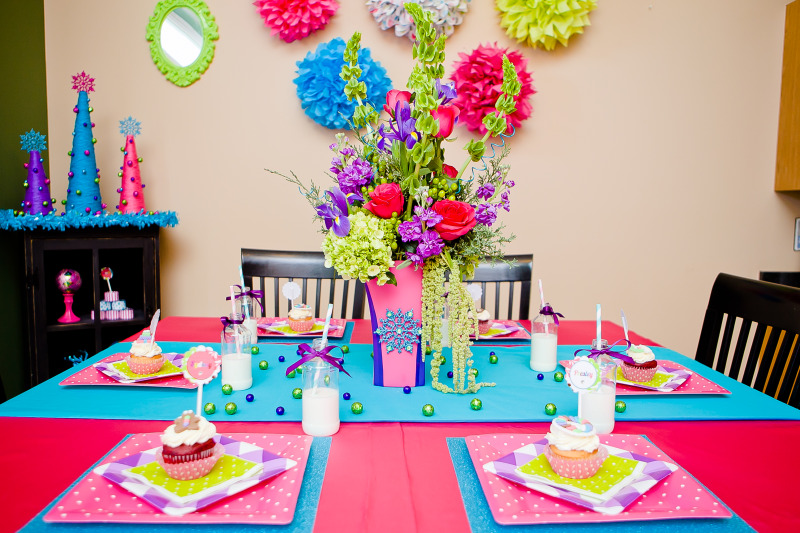 Karas Party Ideas Merry Bright Colorful Holiday Childrens
