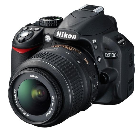 Kamera SLR Nikon D3100