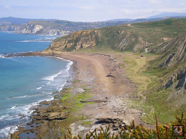 Playa de Azkorri o Gorrondatxe, Getxo, Bizkaia