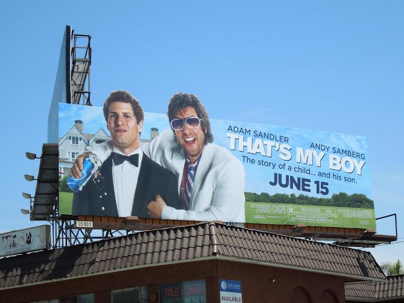 Thats My Boy billboard