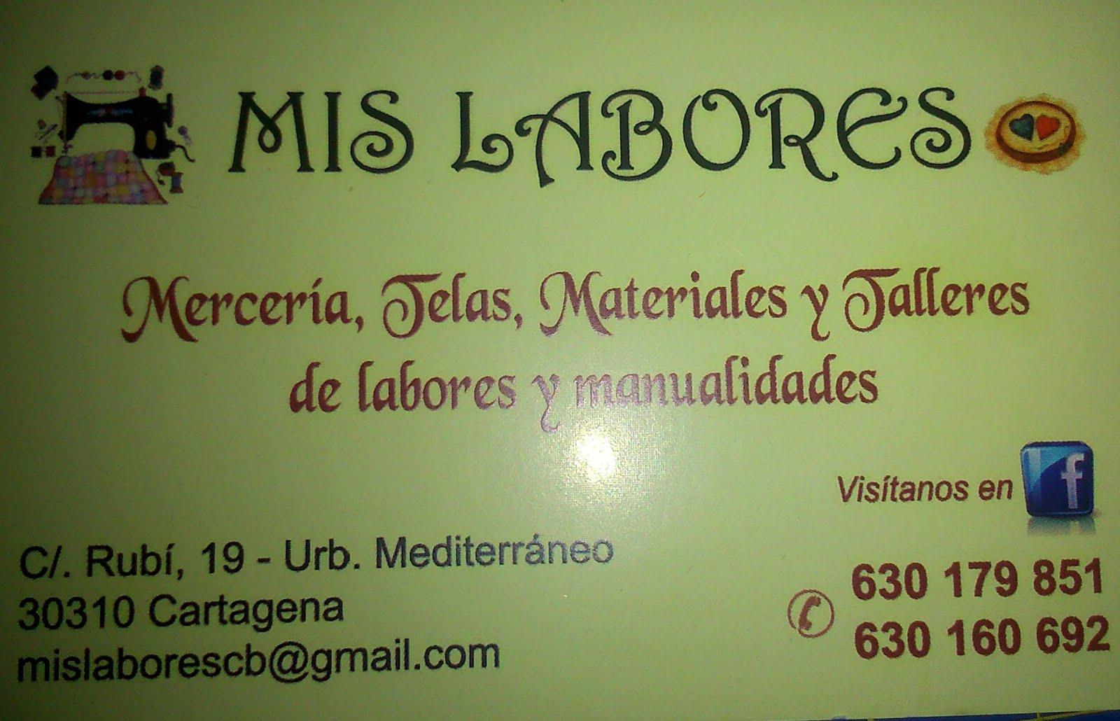 Mis labores (Cartagena)