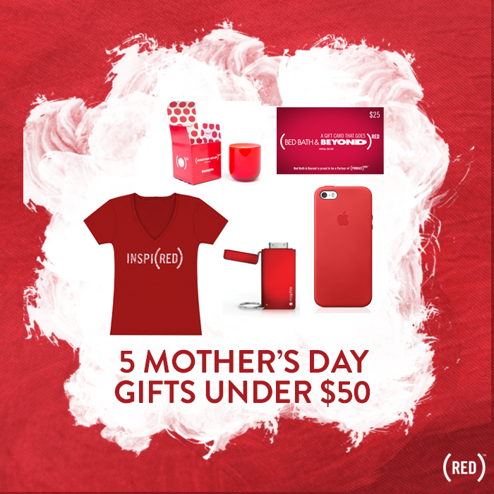 5 Mother 39 S Day Gifts Under 50 Blog Red