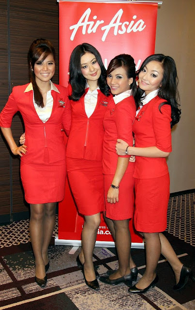 Airasia Air Hostess Pic Air Asia Air Hostess