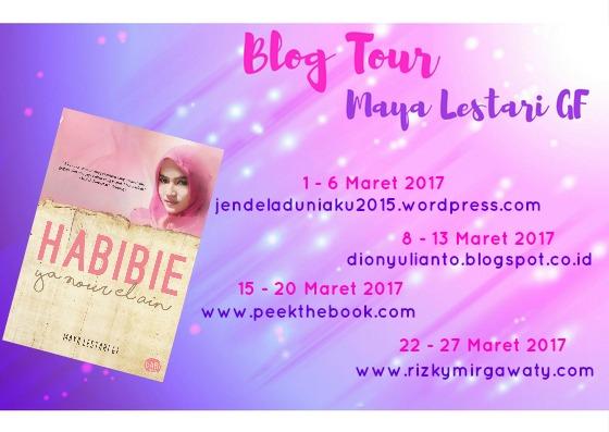 Blog Tour Habibie Ya Nour El Ain