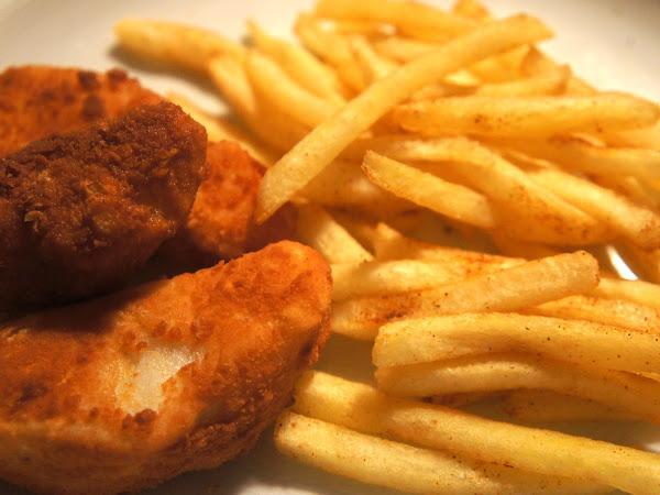 REZEPT: glutenfreie Fish & Chips
