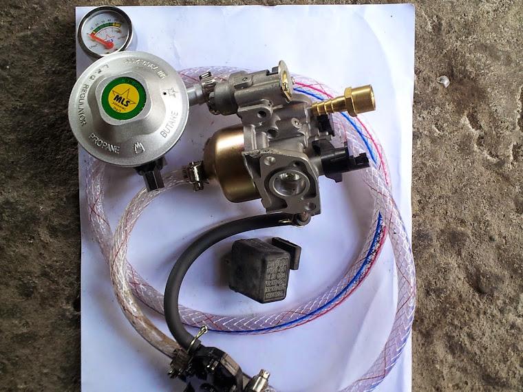 Mesin Pompa Air Bahan Bakar Lpg