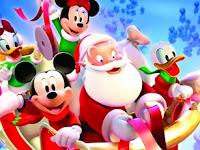 Mickey & Santa Puzzle