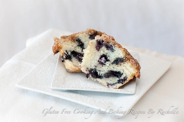 Gluten Free/Dairy Free Blueberry Muffins