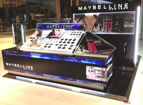 Maybelline inaugura quiosque no Bangu Shopping