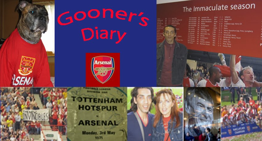 Gooner&#39;s Diary