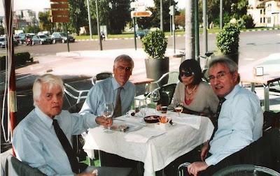 Lothar Schmid, Hans-Heinrich Wrede y José María Gutiérrez Dopino en 2009 en Valencia