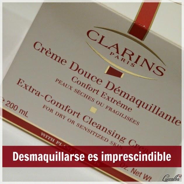 Caja de Crème Douce Démaquillante de Clarins