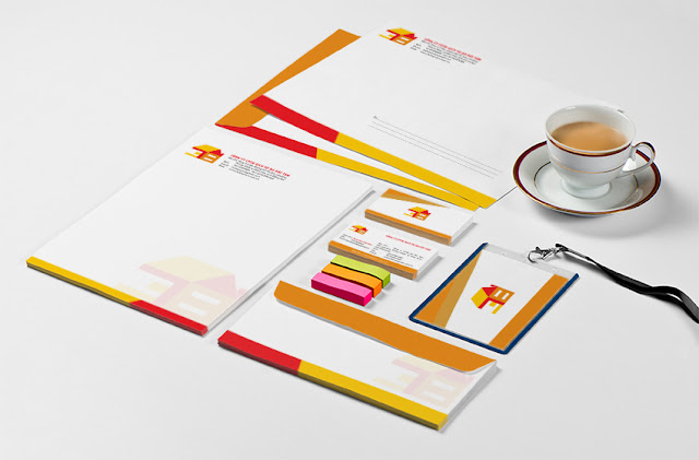 Mẫu bộ nhận diện thương hiệu công ty Tài Lộc Phát