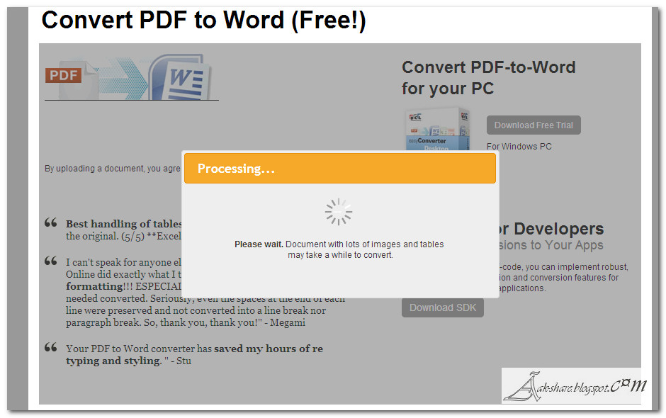 download software convert file pdf ke word blueskykindl With software to convert word document to pdf free download