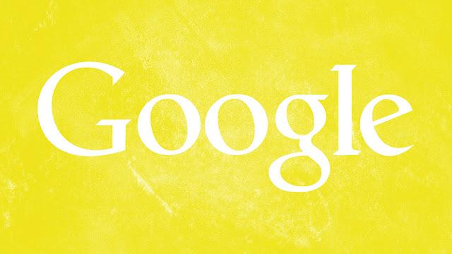 Google Yellow Grunge HD Wallpaper