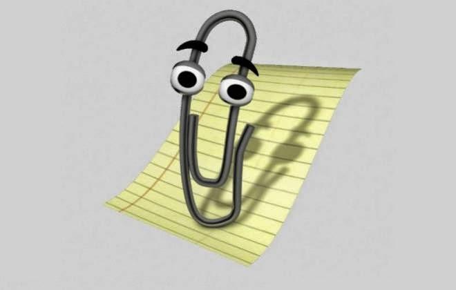 Clippy (Assistente do Office) mais atrapalhava do que ajudava