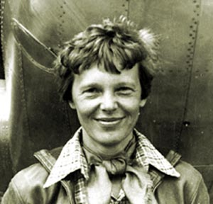 amelia earhart grew up as a