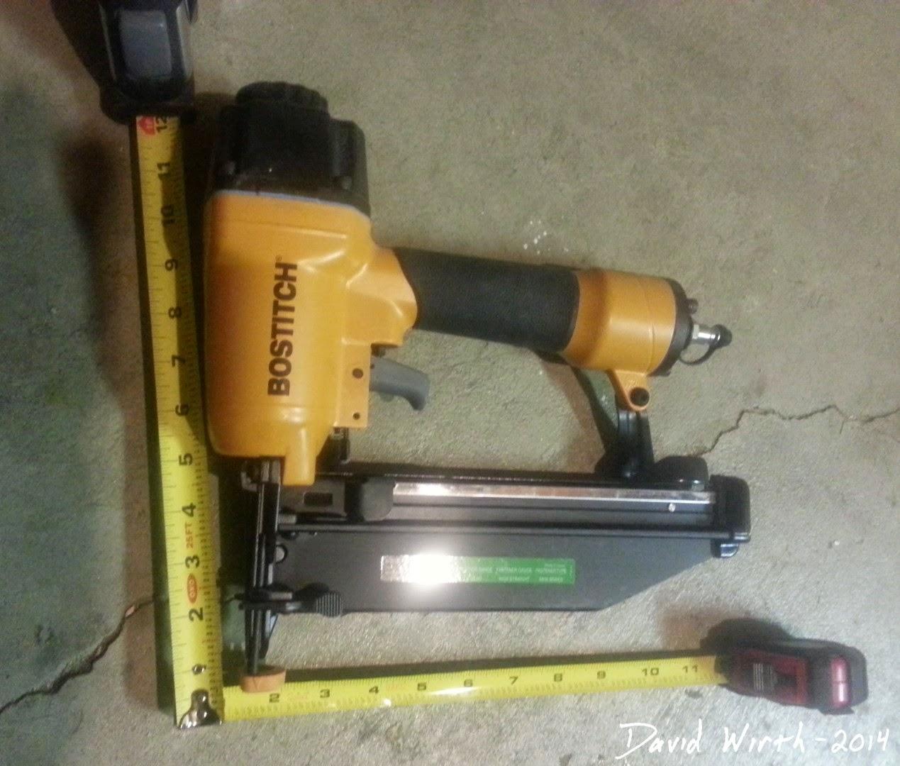 bostitch nail gun measurement, case, size