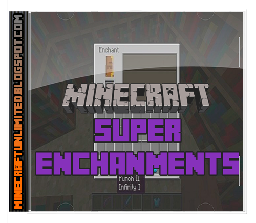 Super Enchants Mod minecraft