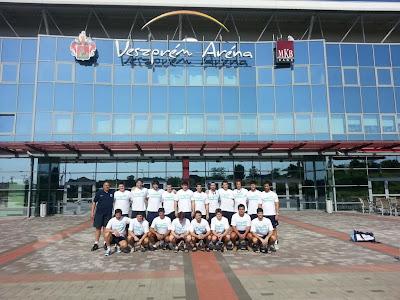 Agentina (juvenil) empata ante los juniors del Veszprem | Mundo Handball