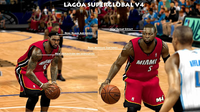 NBA 2K14 Super Global Mod