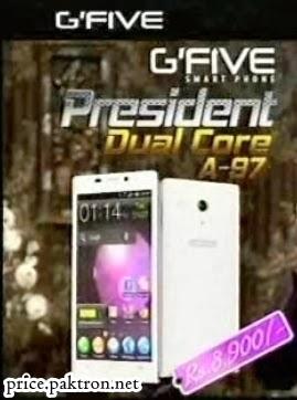 Gfive President A97 pakistan