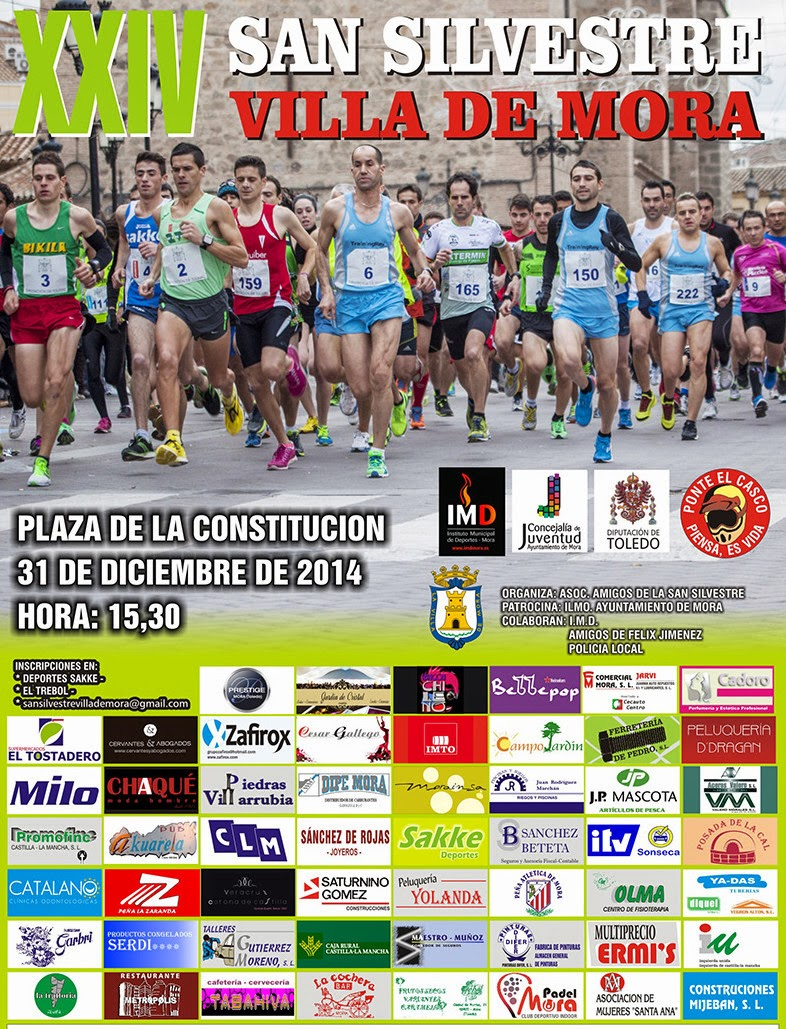 XXIV San Silvestre Villa de Mora