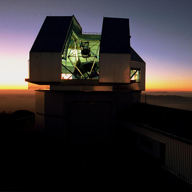 The 3.5-meter WIYN Telescope at Sunset