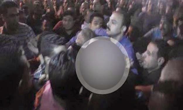 قصة الفتاة التي تعرضت للاغتصاب و التعرية بشكل كامل في ميدان التحرير أثناء الإحتفال بتولي السيسي الرئاسة
