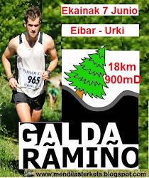 Galdaramiño ML: 18 km / 900md+