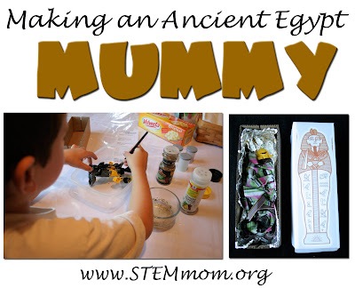 Making a Mummy Little Boy Style | STEMmom.org