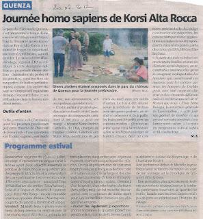 Homo Sapiens de Korsi Alta-rocca