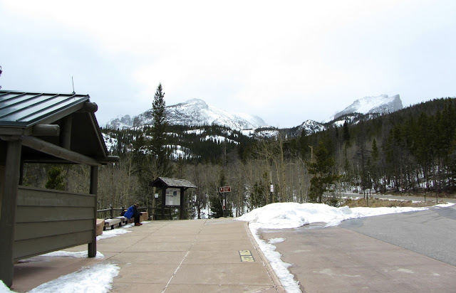 The Glacier Gorge trailhead in Rocky Mountain National Park