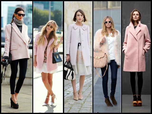 abrigo rosa pastel . soft pink