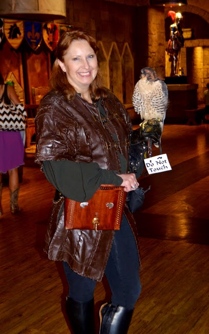 Lady Anne, Master Falconer, Medieval Times Atlanta