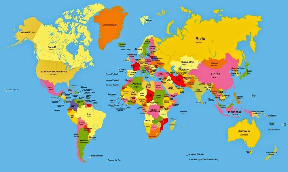 Bangladesh Mapa Planisferio