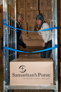Samaritans purse Christmas shoe box appeal