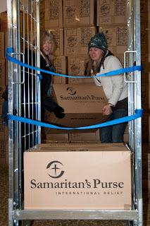 Samaritans purse Christmas shoe box appeal