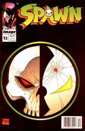 Spawn #12 comic cover