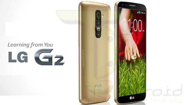 Golden LG G2