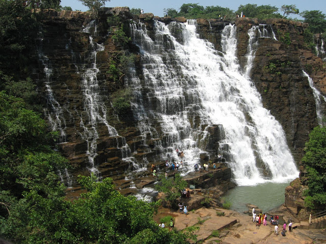 Jagdalpur India  City pictures : Tirathgarh Falls, Jagdalpur India