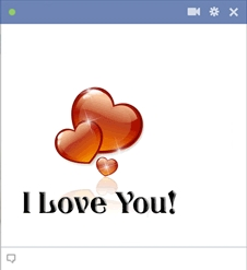 i love you chat code for facebook Emoticon Facebook Terbaru