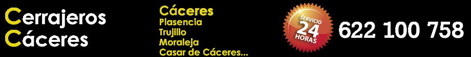 CERRAJEROS CÁCERES - 622 100 758 - 24 HORAS