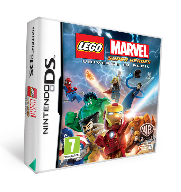 Lego: Marvel Superheroes Universe in Peril Nintendo DS