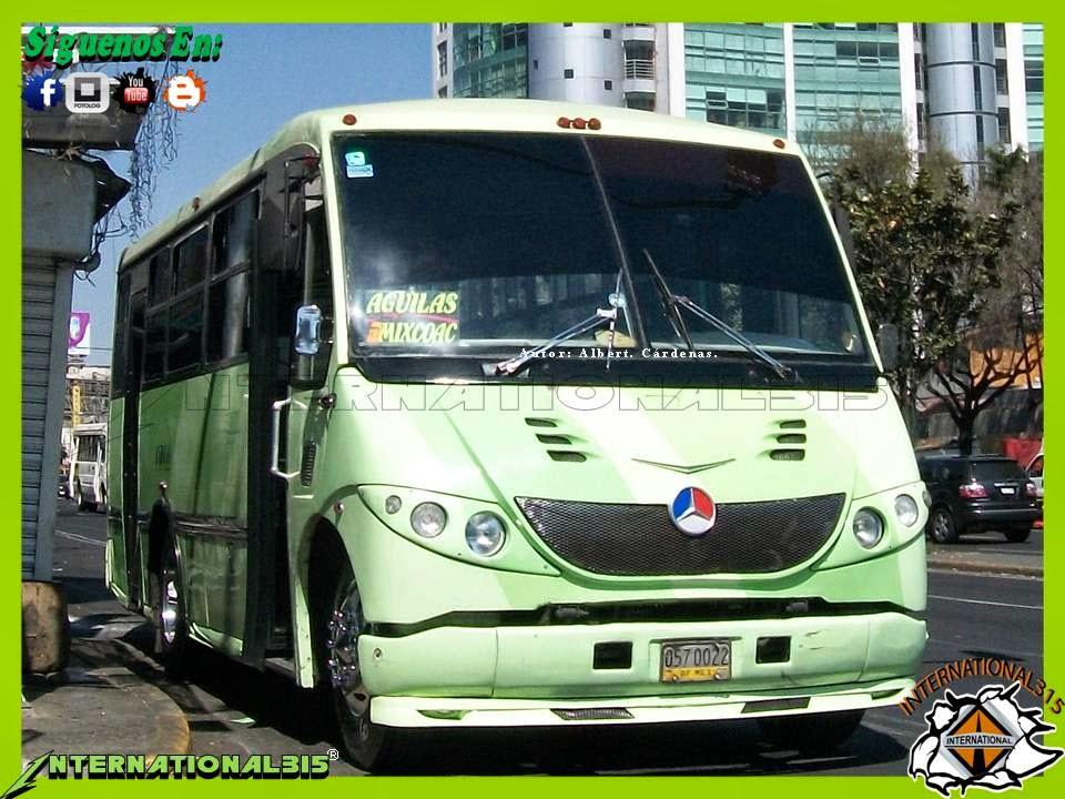 International-315: Ruta 57 CDMX.