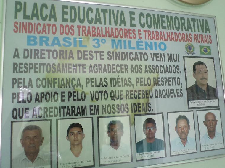 DIRETORIA DO STTR