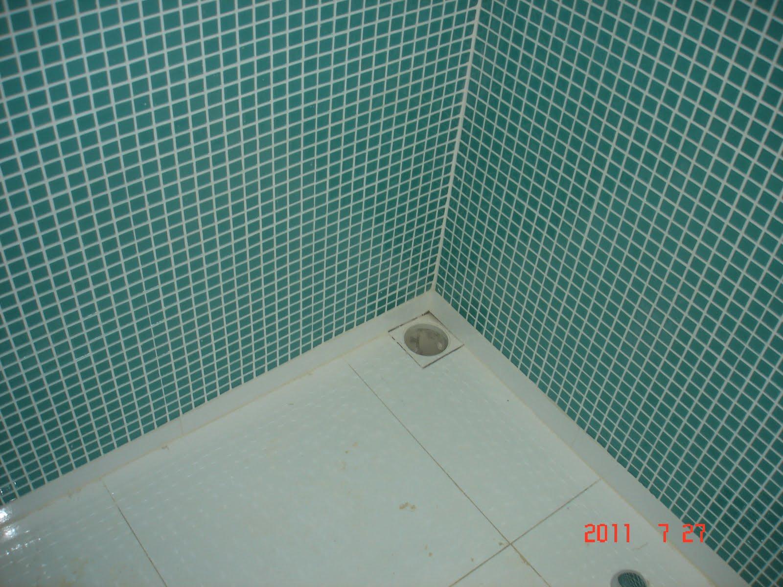Imagens de #AE2C1D casinha da Dani e do João: Pastilhas do banheiro (denovo!) 1600x1200 px 2864 Box Banheiro Joao Pessoa