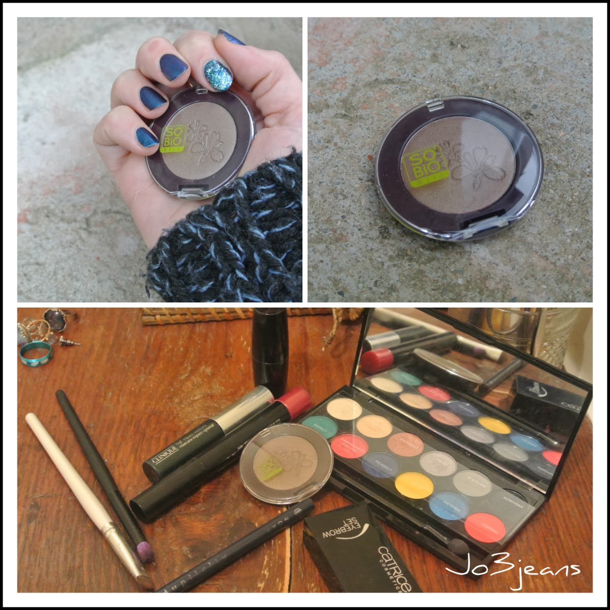 palette sleek glory, mascara clinique, palette sourcils Catrice, Kajal Yves Rocher, rouge à lèvres MAC
