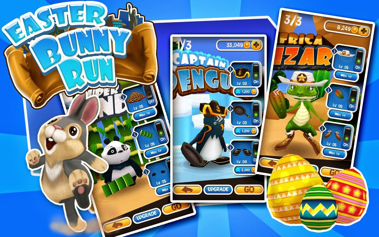 Easter Bunny Run v1.0.1 (Mod Money) APK+DATA